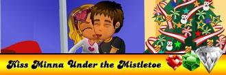 Kiss Mina Under the Mistletoe