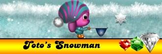 Toto\'s Snowman