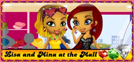 Lisa and Mina at the Mall
