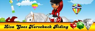 Lisa Goes Horseback Riding