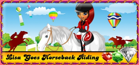 Lisa Goes Horseback Riding