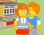 Brick Block Kiss