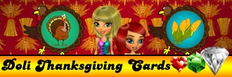Doli Thanksgiving Cards