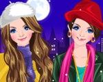 Stylish Twin Sisters