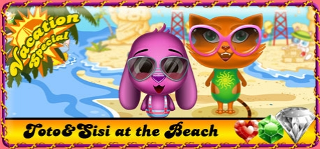 Toto & Sisi at the Beach