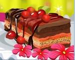 Tasty Cherry Cake