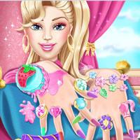 Barbie Nails Spa Decoration Games Doli Doli