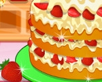 Cooking Strawberry Shortcake