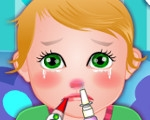 Baby Juliet Got the Flu
