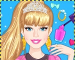 Barbie Prom Nails Designer