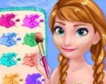Frozen Makeup Prom Design