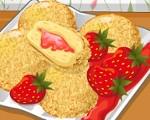 Strawberry Cheesecake Donuts