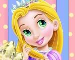 Baby Rapunzel Kitty Fun
