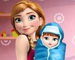 Anna and the Newborn Baby