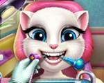 Angela at the Dentist