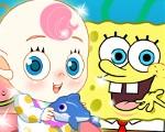 Spongebob and Patrick Babysit