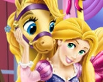 Rapunzel's Carriage Decor
