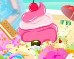 Pregnant Elsa Ice Cream Decor