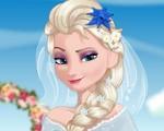 Bride Elsa Cooking Wedding Dish