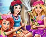 Disney Princesses Pajama Party