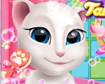 Talking Angela at Spa Session