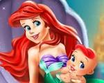 Ariel and Her Newborn Baby