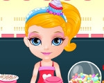 Baby Barbie Candy Shop Slacking