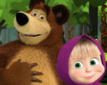 Masha and the Bear Hidden Object