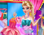 Elsa Fairy Party Dressup
